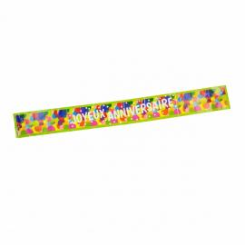 Banderole Joyeux Anniversaire Pop - 90 cm - My Party Kidz