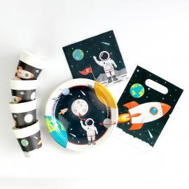 Kit Anniversaire 8 Personnes Astronaute - My Party Kidz
