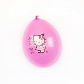 12 Ballons imprimés Hello Kitty - 30cm - My Party Kidz