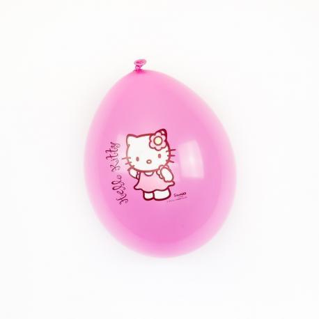 12 Ballons imprimés Hello Kitty - 30cm - My Party Kidz