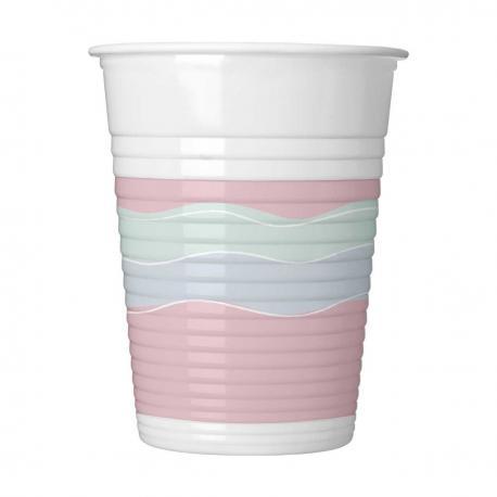 8 Gobelets en plastique Elegant Party - 20 cl - My Party Kidz