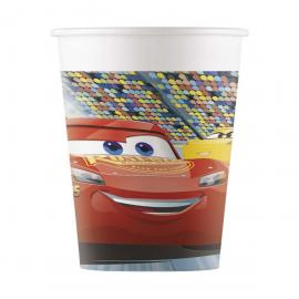 8 Gobelets en carton Cars 3 - 20 cl - My Party Kidz