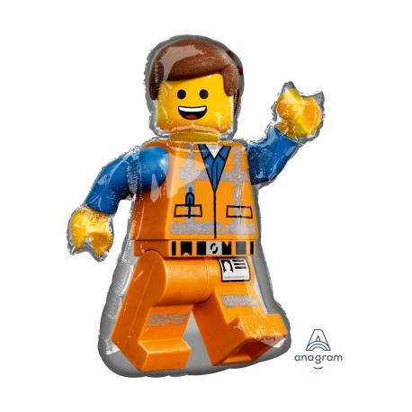 Ballon alu Lego Emmet - 80 cm