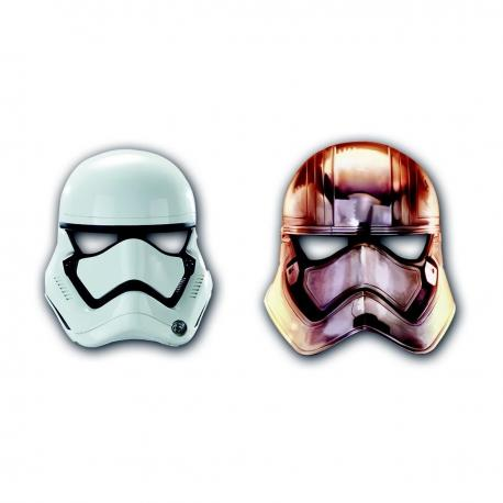 6 Masques Star Wars StormTrooper - My Party Kidz