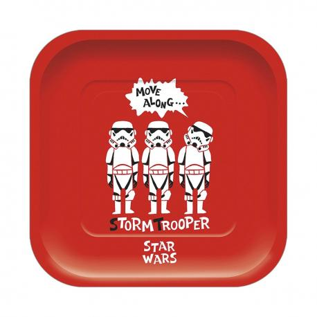 4 Assiettes premium en carton Star Wars Paper Cut - 24 cm - My Party Kidz