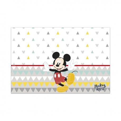 Nappe premium en plastique Mickey Awesome - 120 x 180 cm - My Party Kidz