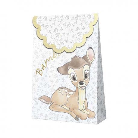 6 Sacs de fête premium Bambi - My Party Kidz