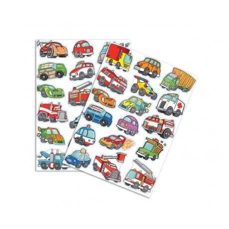 34 Stickers Voitures et Camions - My Party Kidz