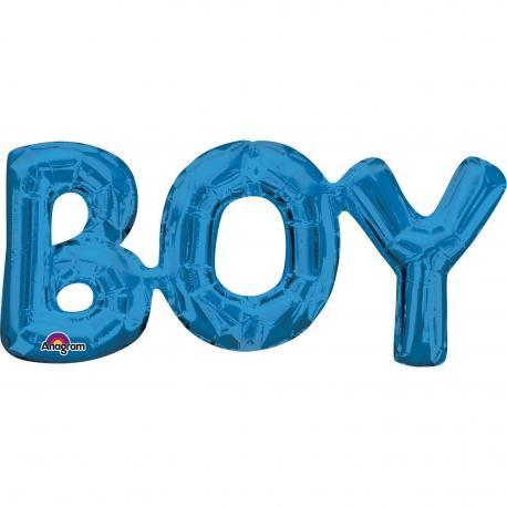 """Ballon alu """"boy"""" - My Party Kidz"""
