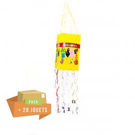 Pack pinata souple Barbapapa + 20 jouets - My Party Kidz