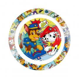 Assiette en plastique Pat Patrouille - 20 cm