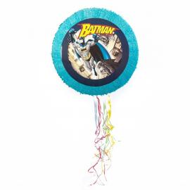 Pinata ronde Batman en carton - diam 50 cm - My Party Kidz