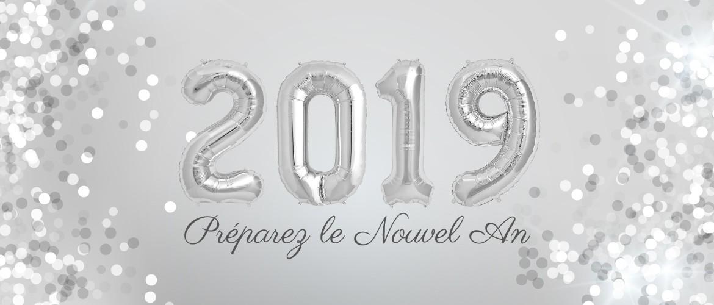 Préparez le Nouvel An