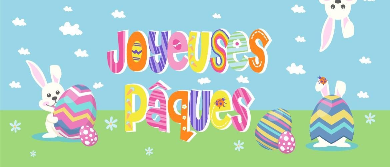 Fêtez Pâques avec notre gamme de vaisselle jetable Joyeuses pâques.